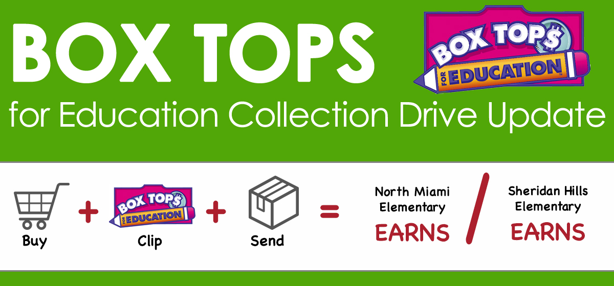 Box Tops for Education Drive Is Ongoing