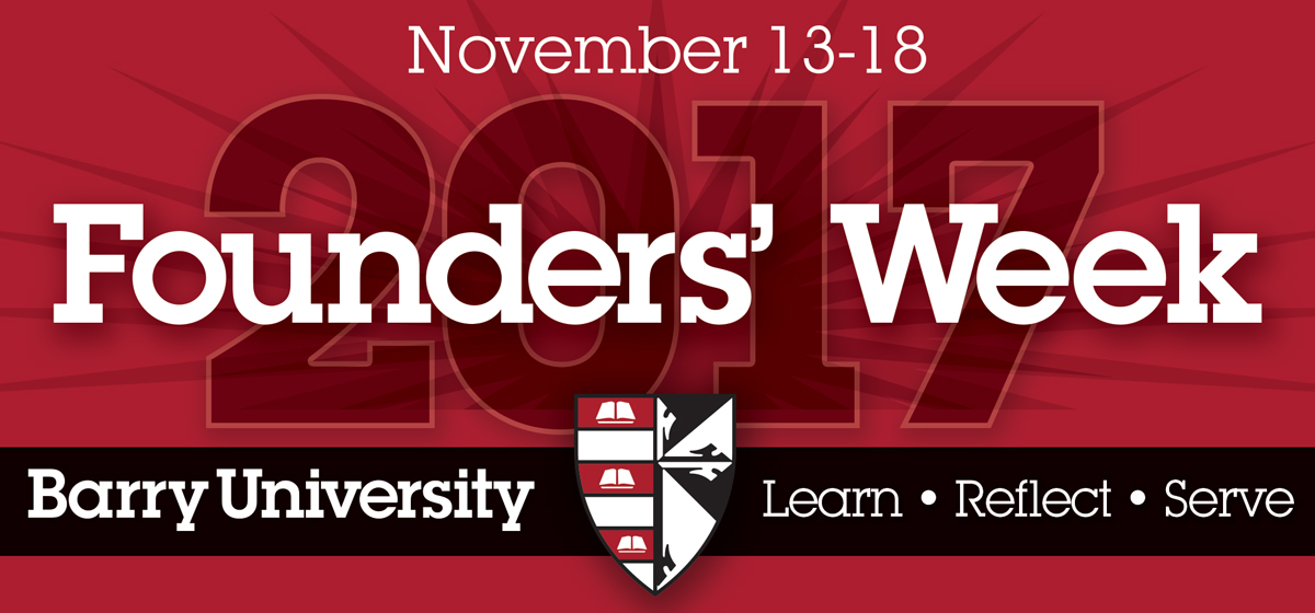 Founders' Week Schedule
