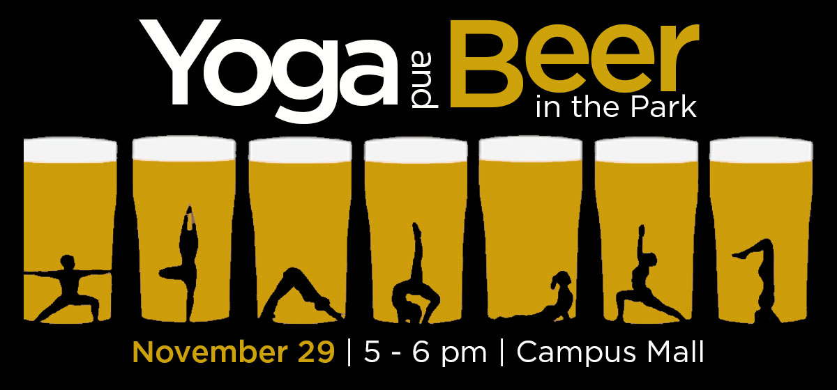 Yoga and Beer in the Park