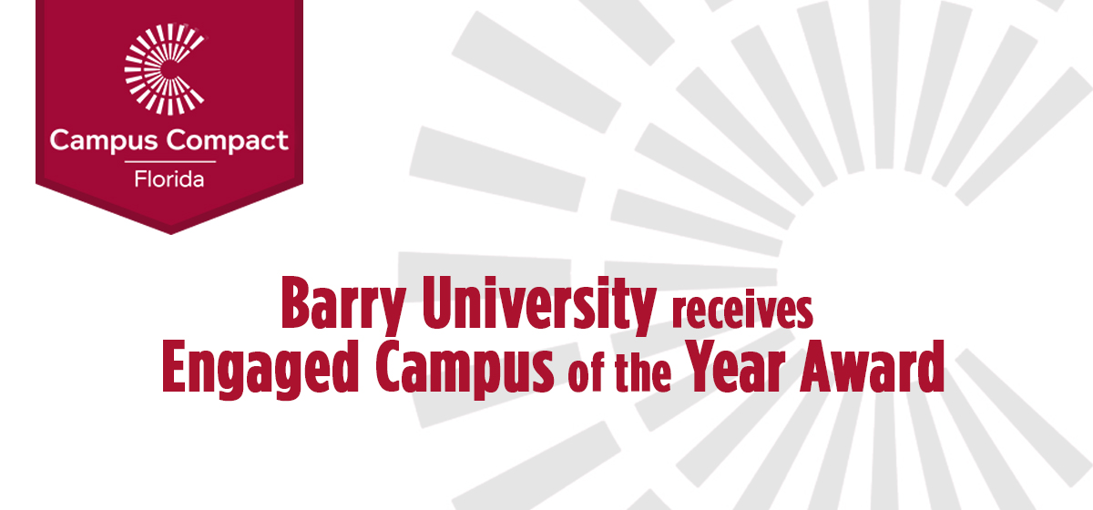 Barry University receives Engaged Campus of the Year Award
