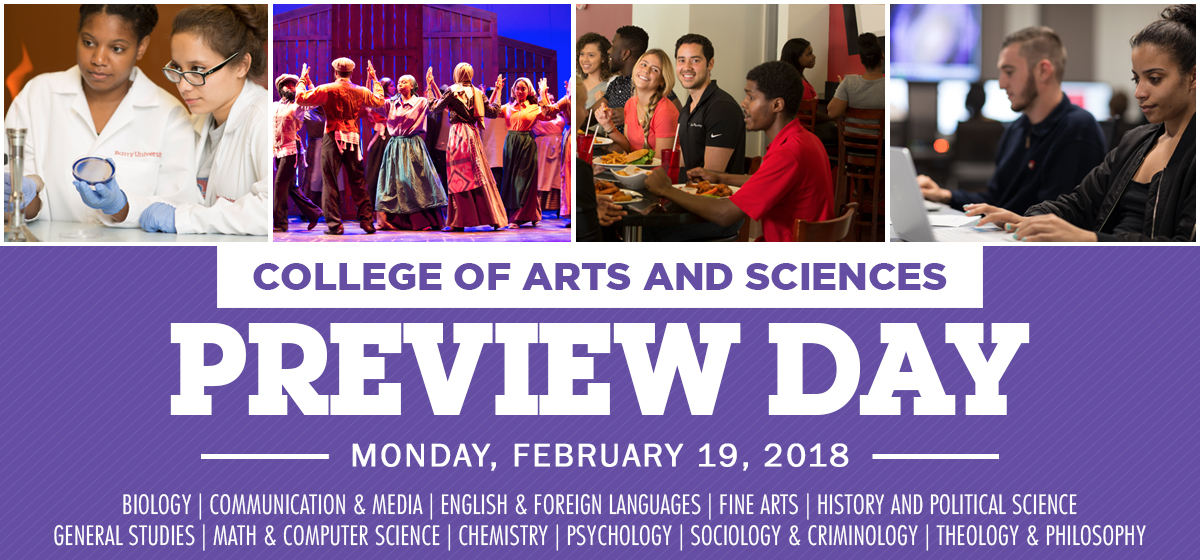 College of Arts and Sciences Preview Day