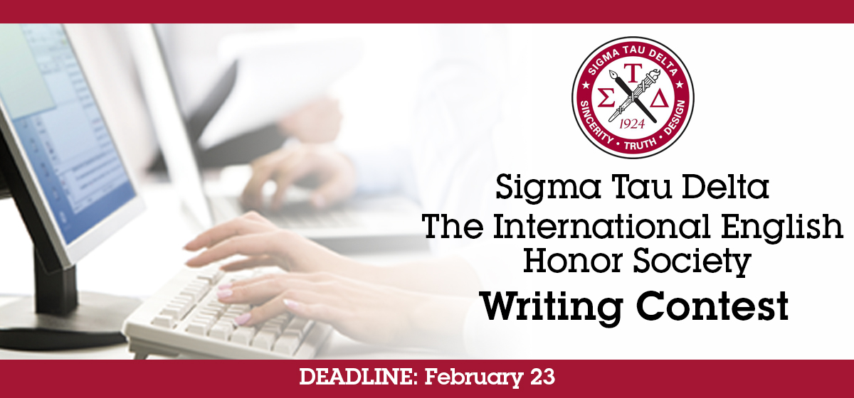 Sigma Tau Delta The International English Honor Society Writing Contest