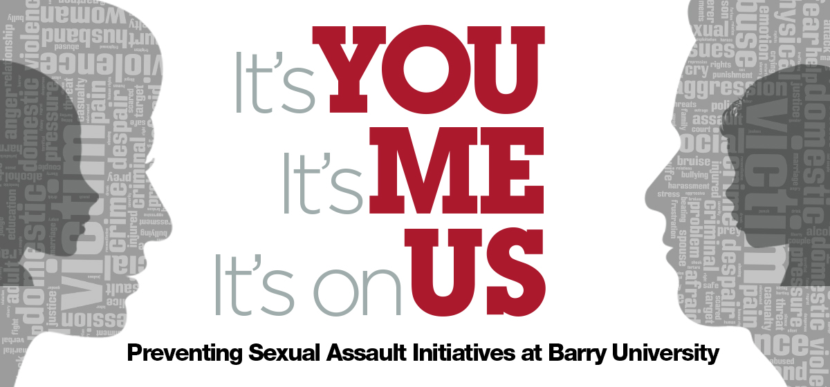 The CHRSJ joins university-wide initiatives to prevent Sexual Assault