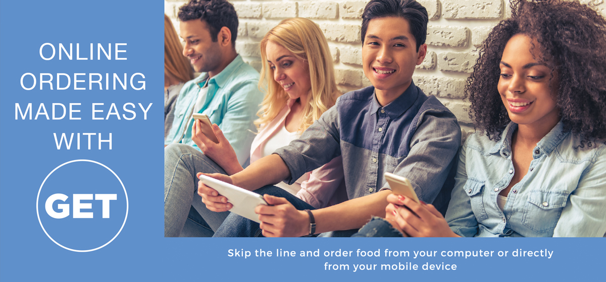 Online ordering made easy with GET