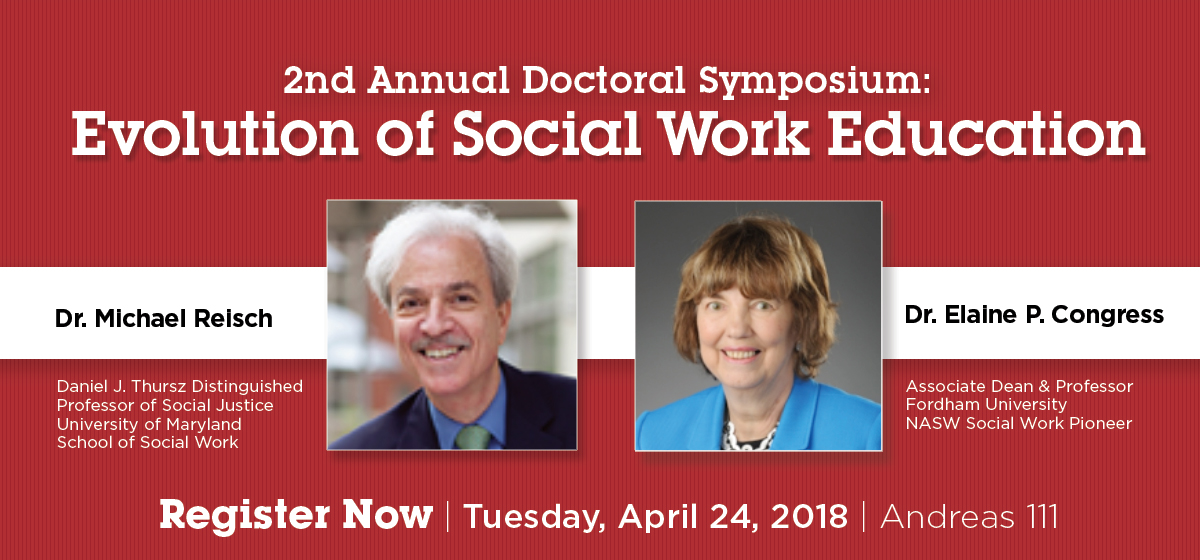 2nd Annual Doctoral Symposium Evolution of Social Work Education
