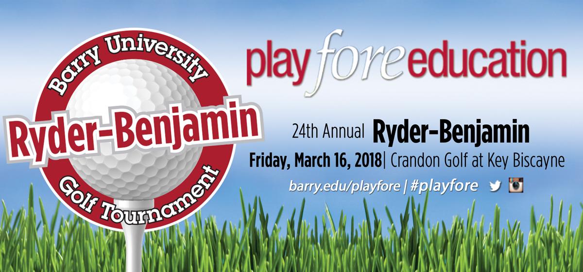 24th Annual Ryder-Benjamin Golf Tournament