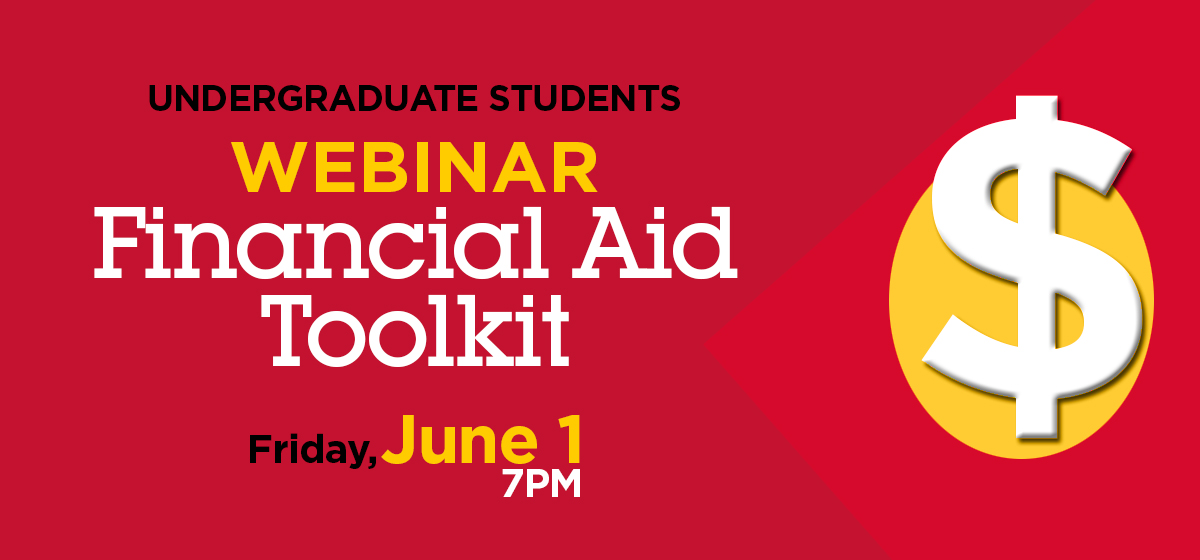 Webinar: My Financial Aid Toolkit
