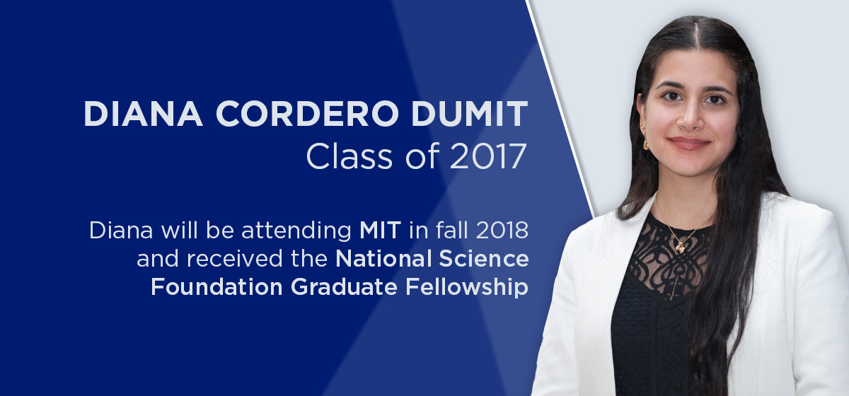 IN HER OWN WORDS: Diana Cordero Dumit — Class of 2017