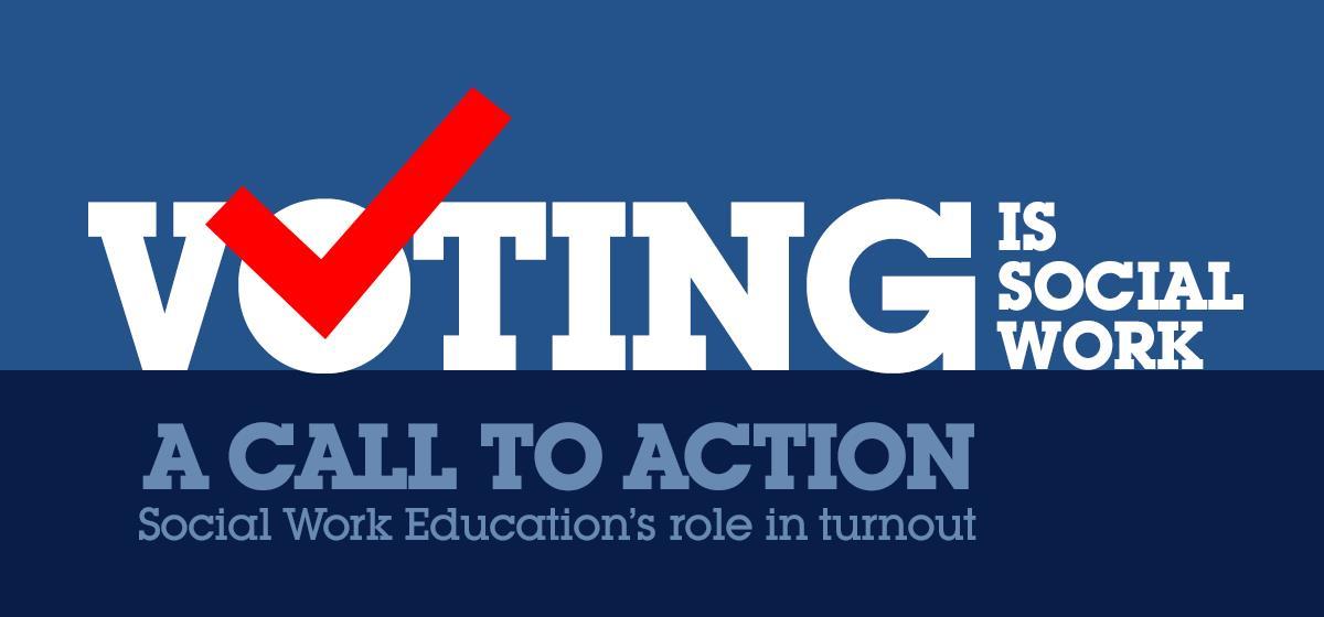 Voting is Social Work