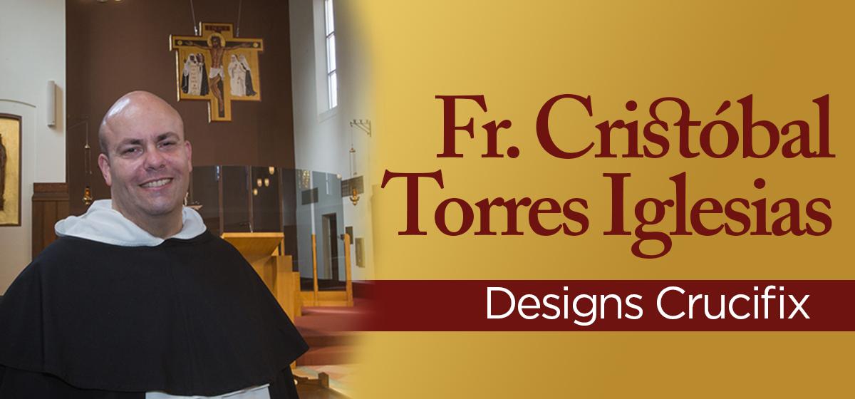 Fr. Cristóbal Torres Iglesias designs crucifix in newly renovated Fr. Cristóbal Torres Iglesias designs crucifix in newly renovated  Cor Jesu Chapel at Barry University