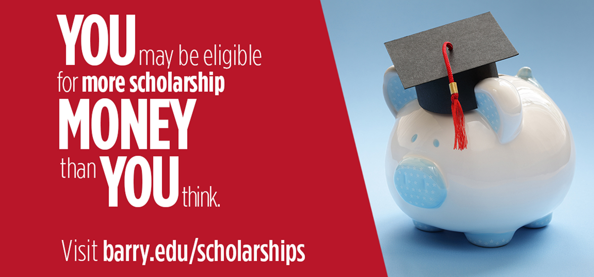 Don't miss on scholarship money for Fall 2019
