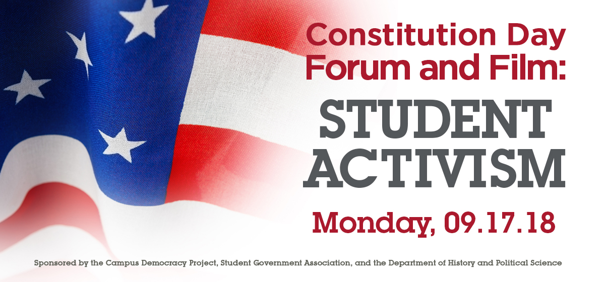Constitution Day Celebration: Student Activism