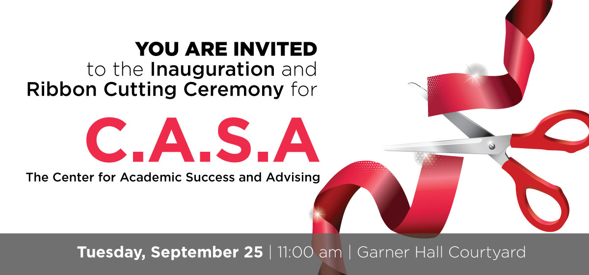 Inauguration and Ribbon Cutting Ceremony for C.A.S.A