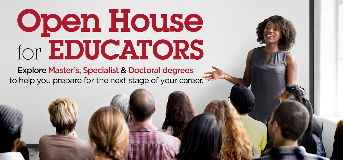 Open House for Educators