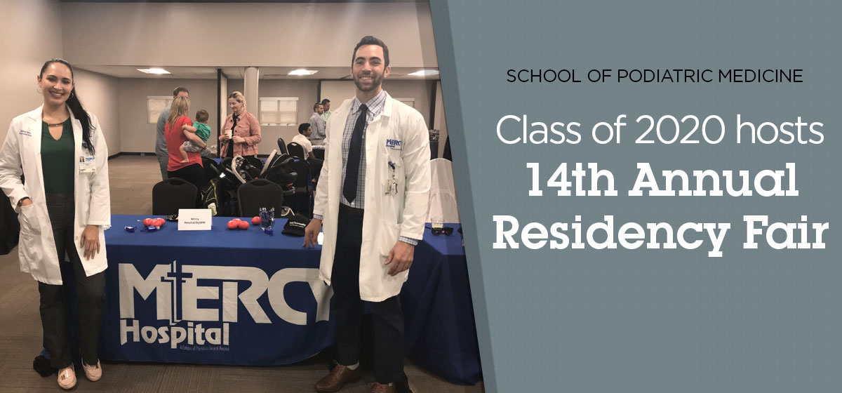 Class of 2020 hosts 14th annual Residency Fair
