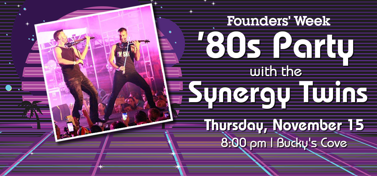 80s Party with the Synergy Twins