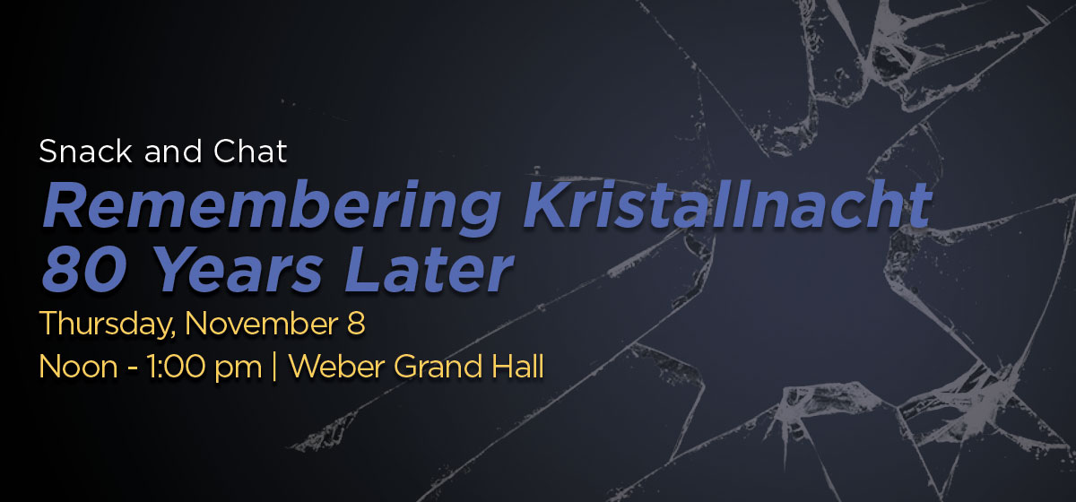 Remembering Kristallnacht: 80 Years Later