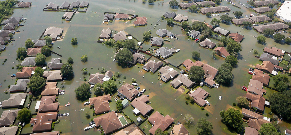 Can A Debt-Burdened Flood Program Take On Hurricane Harvey?