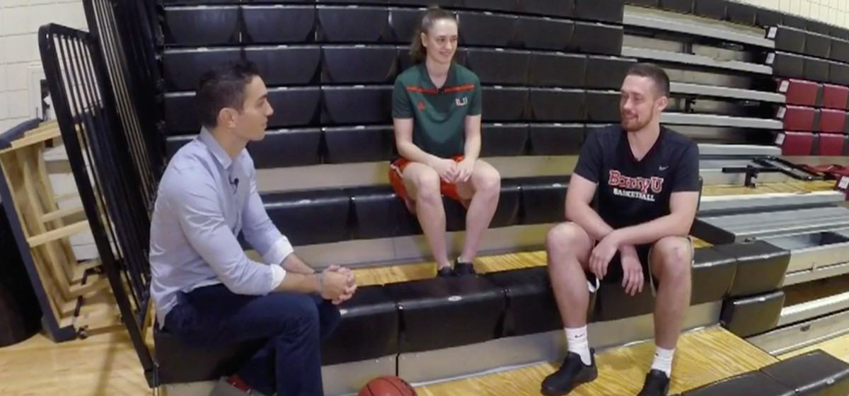 Danish Siblings Travel 5,000 Miles To Chase College Basketball Dream