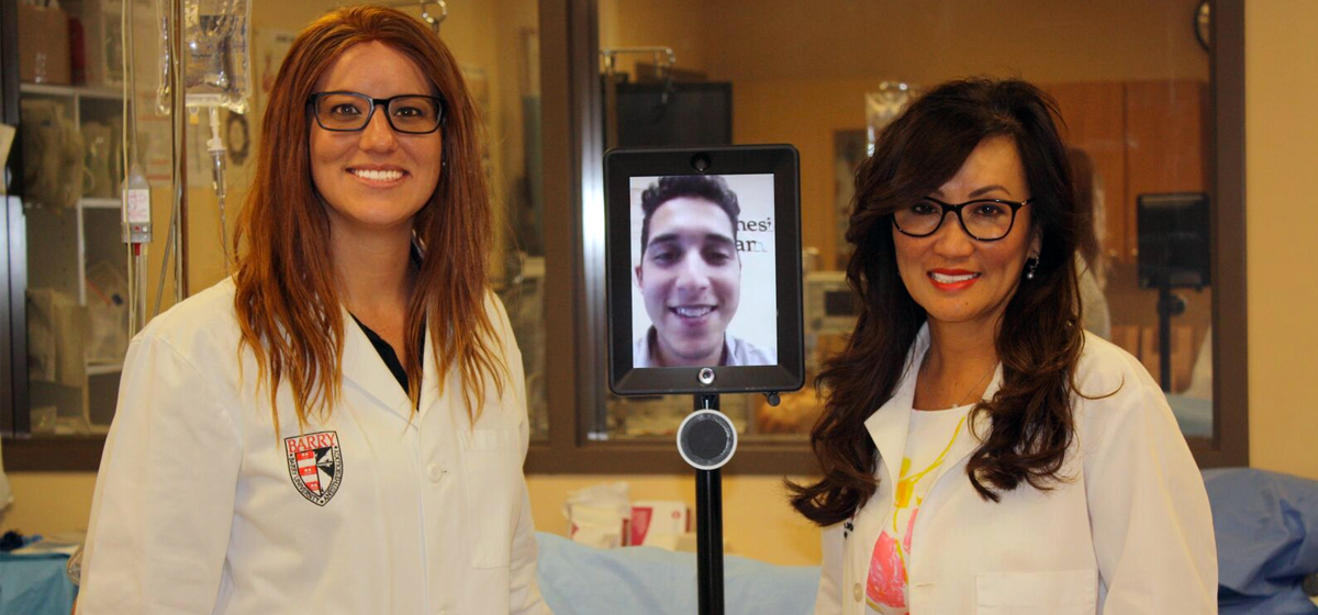 Barry University's College of Nursing & Health Sciences Introduces Cutting-Edge Robotic Technology to Enhance Student Learning