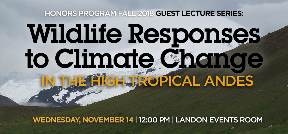 Wildlife Responses to Climate Change in the High Tropical Andes