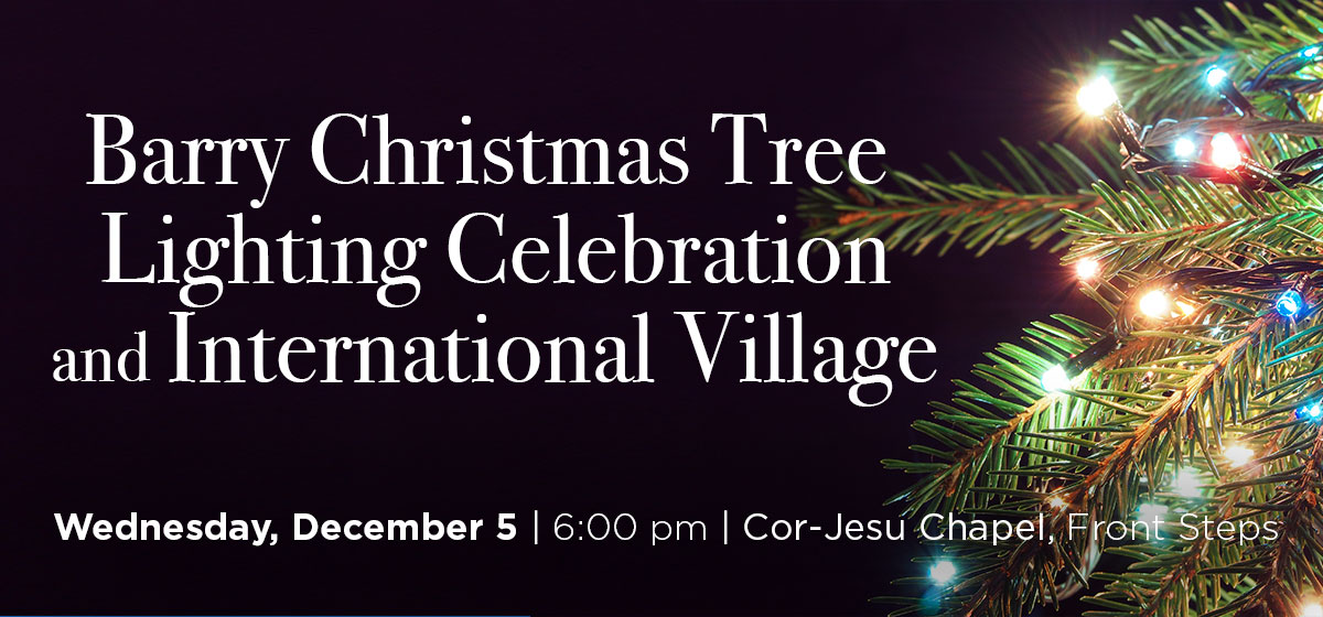 Barry Christmas Tree Lighting Celebration and International Village