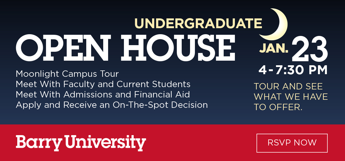 Undergraduate Open House
