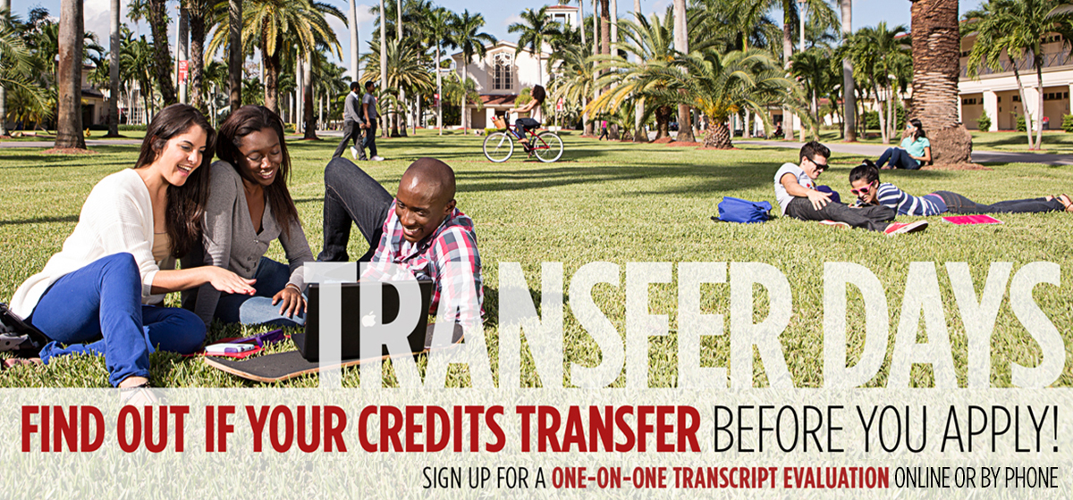 Transfer Days: Find out if your credits transfer before you apply