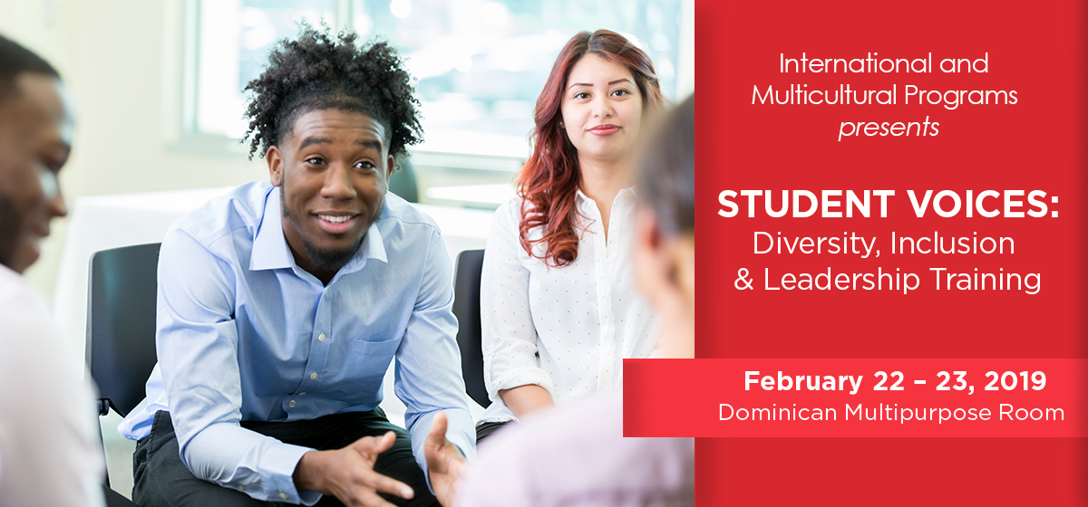 Join the Student Voices Training Program, Feb. 22-23
