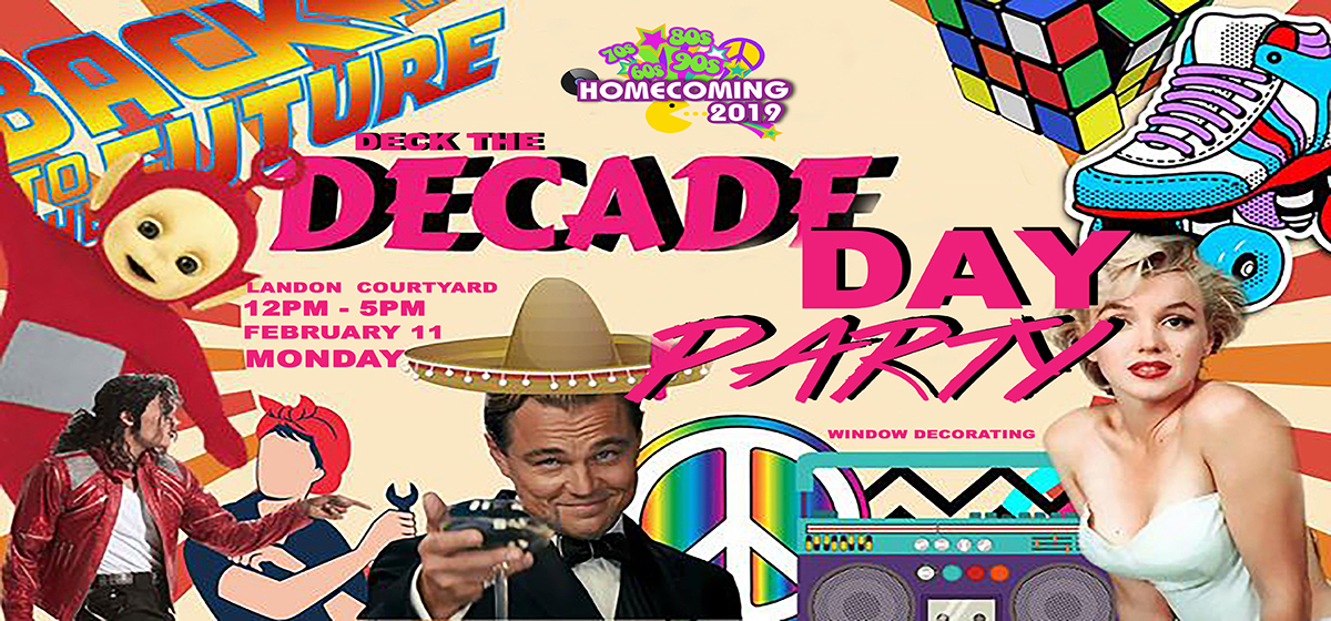 Deck the Decade Day Party