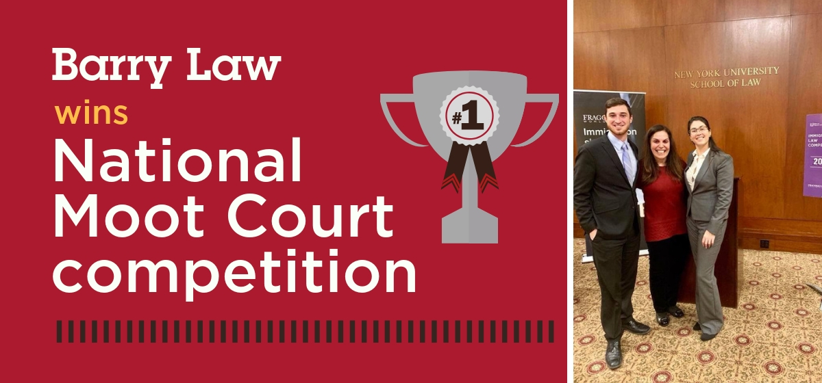 Barry Law Wins National Immigration Law Competition