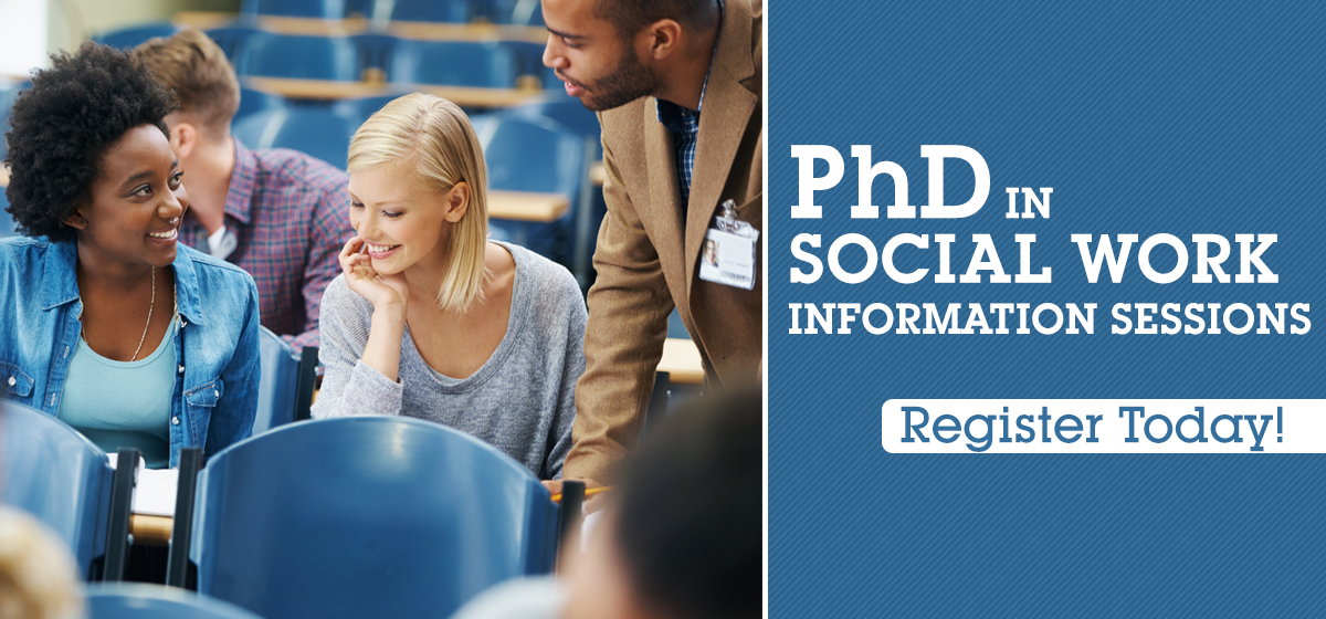 PhD in Social Work Information Sessions