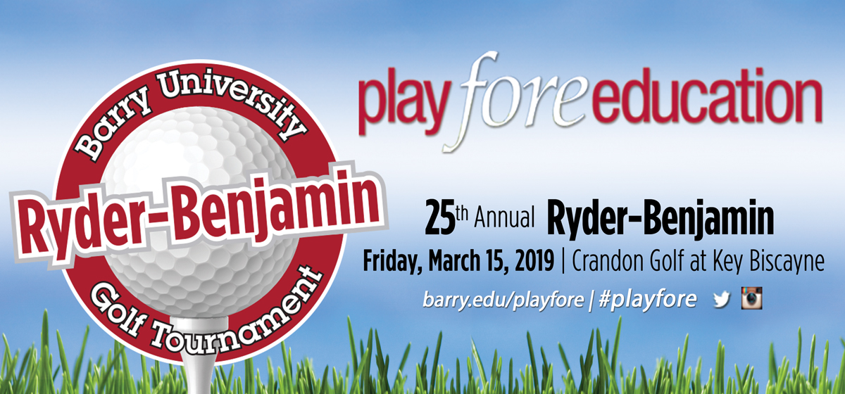 25th Annual Ryder-Benjamin Golf Tournament takes place March 15