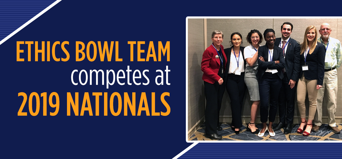 Ethics Bowl Team competes at Nationals