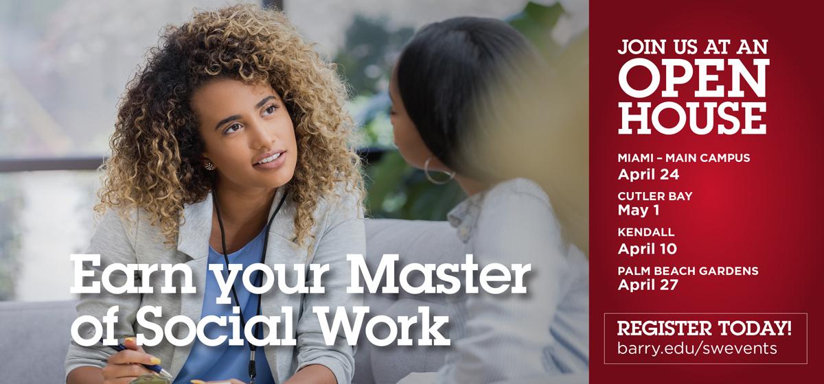Open House: Master of Social Work