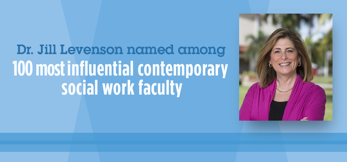 Dr. Jill Levenson named among top 100 most influential contemporary social work faculty