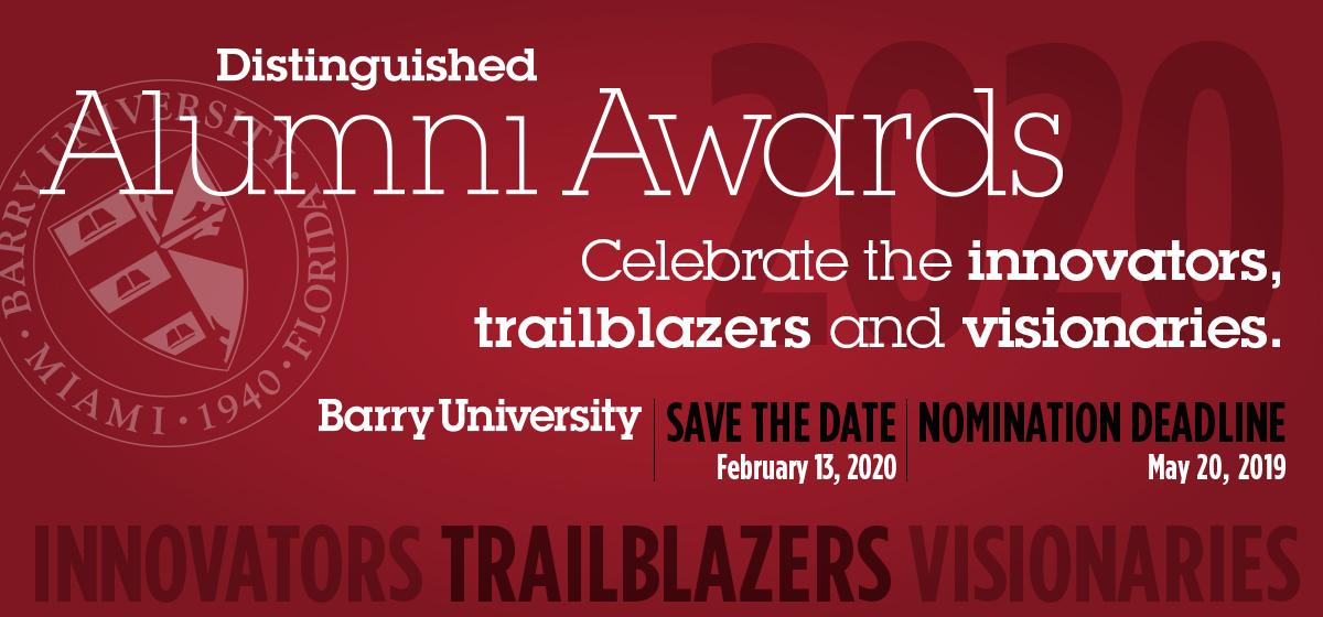Distinguished Alumni Awards Nominations Now Open