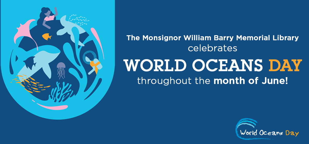 Celebrate World Oceans Day at the Library in June!