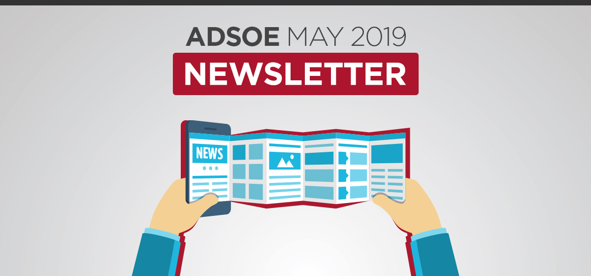 ADSOE May 2019 Newsletter