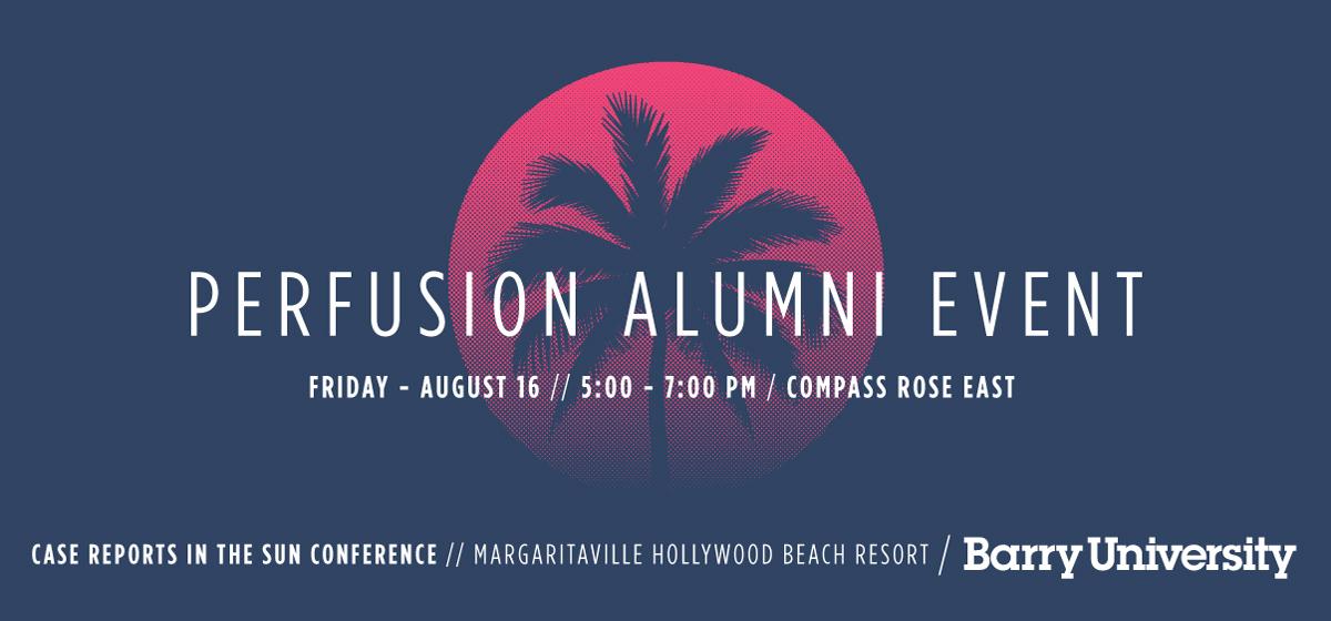 Perfusion Alumni Scholarship Event