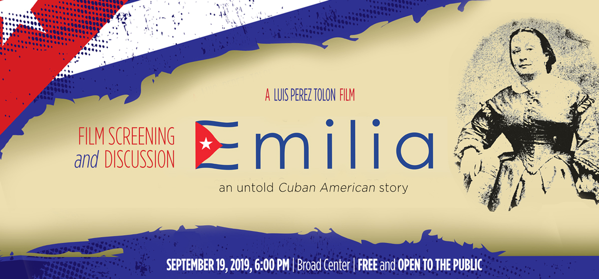 """Join us for """"Emilia: An Untold Cuban-American Story,"""" Sept. 19"""