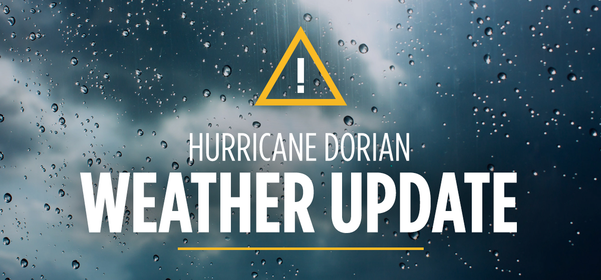 Hurricane Dorian Update #9