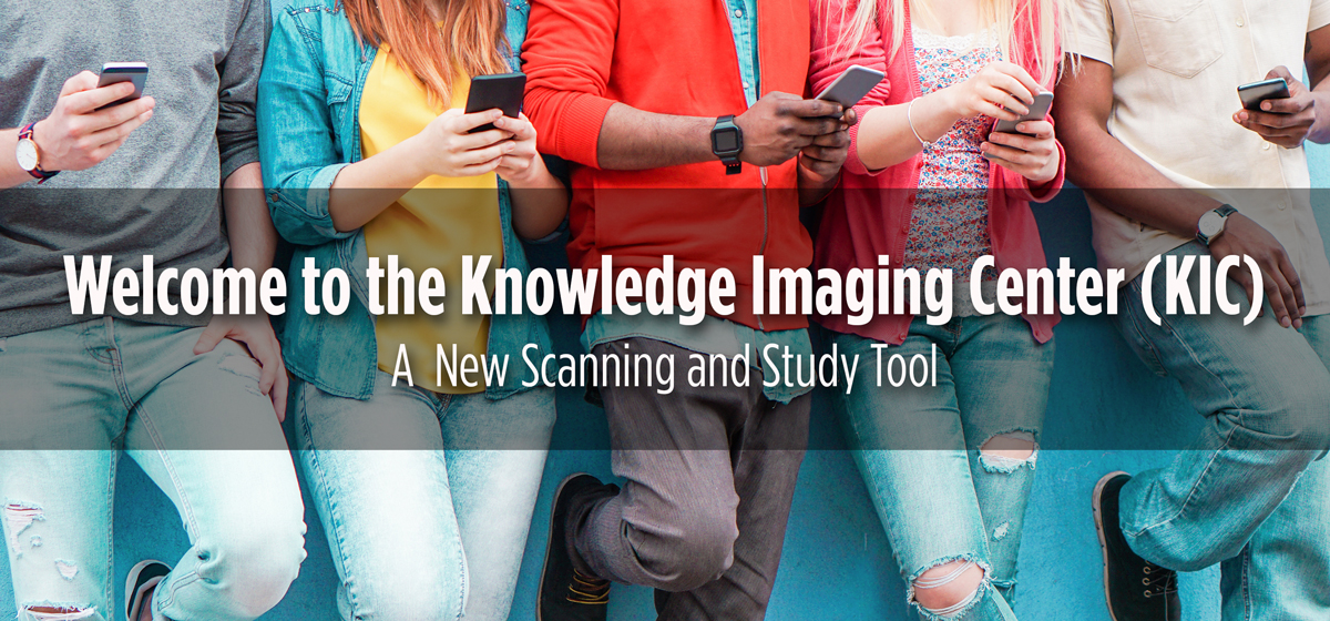 KIC Study System: A New Scanning and Study Tool