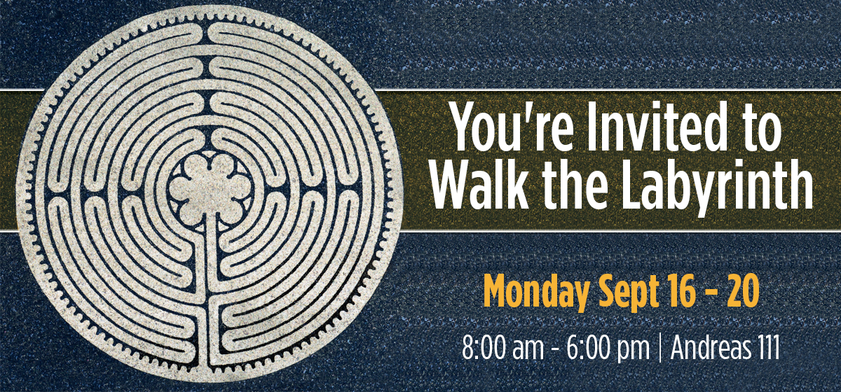 You're Invited to Walk the Labyrinth