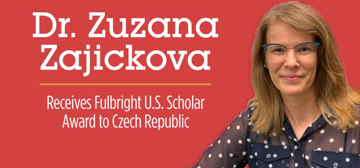 Barry University's Dr. Zuzana Zajickova Receives Fulbright U.S. Scholar Award to Czech Republic in Chemistry