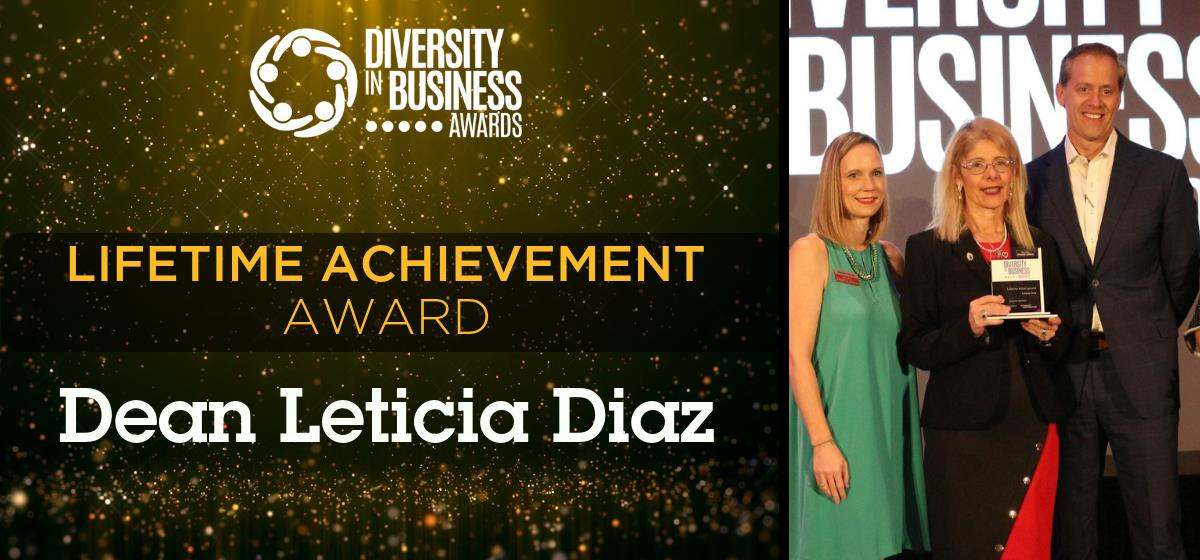 Barry Law Dean Leticia Diaz wins Lifetime Achievement Award for Diversity