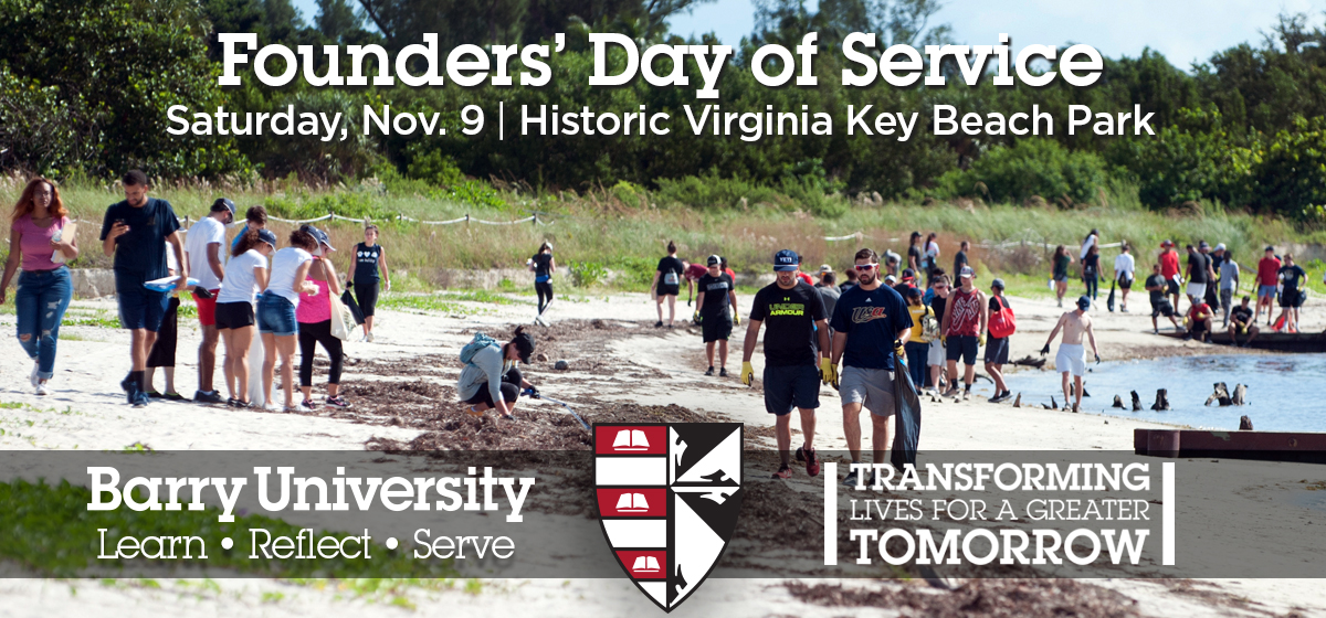 Register for Founders' Day of Service today!