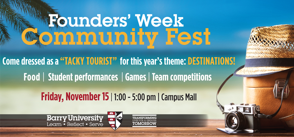Founders' Week Community Fest- Register your team today!