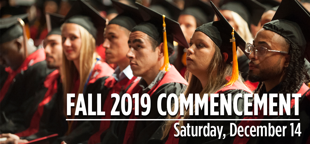Celebrate Commencement on Saturday, Dec. 14