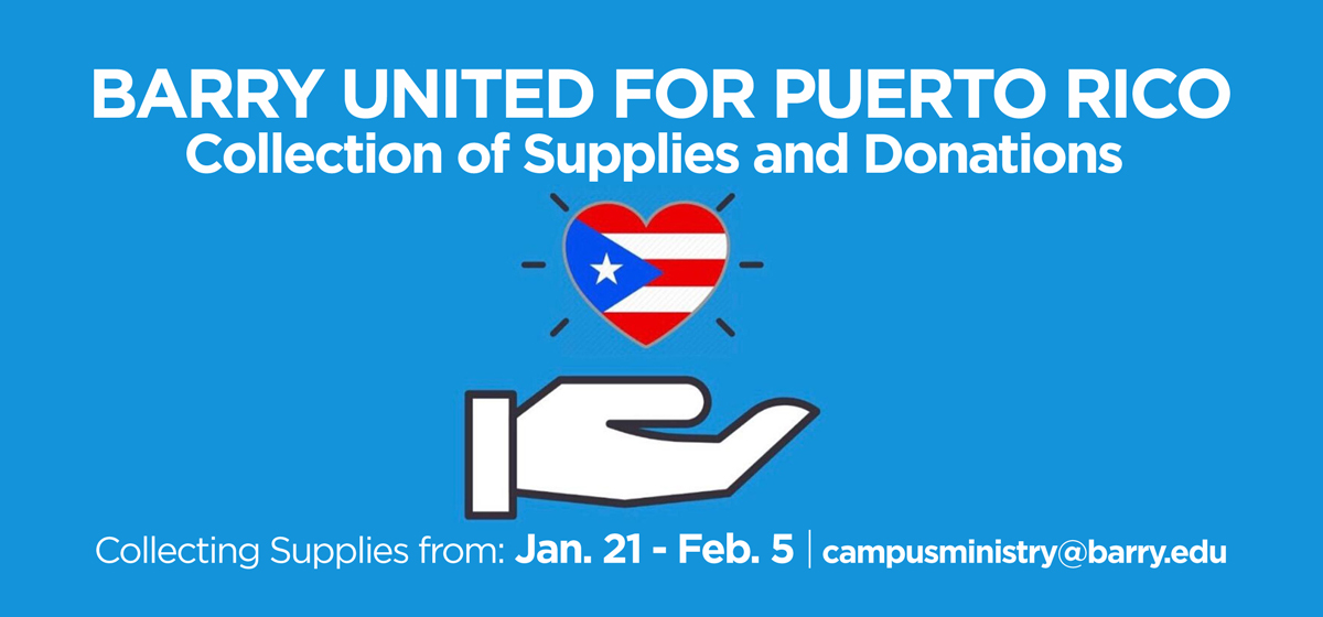 Barry United for Puerto Rico